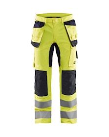 Multinorm loomuliku tulekindlusega materjalist ripptaskutega püksid