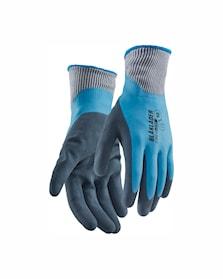Werkhandschoen ongevoerd, latex gedipt