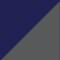 Marineblau/ Grau