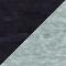 Schwarz Melange/ Grau