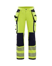 Dámské výstražné kalhoty strecové ve 4 smerech
