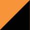 Huomio oranssi/ Musta