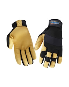 Work Gloves Lined Leather,