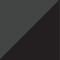 Grafiitinharmaa/ Musta