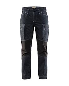 Spodnie warsztatowe damskie ze stretchem