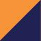 High Vis Orange/ Marineblau