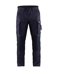 Flame retardant inherent trousers with stretch