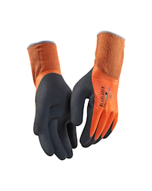 Work gloves lined WR, latex coated