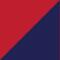 Rosso/ Blu marino
