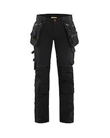Dámské remeslnické kalhoty strecové ve 4 smerech