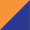 High Vis Oranje/ Korenblauw