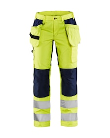 Ladies Hi-Vis trousers with stretch