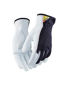 Lederen handschoen