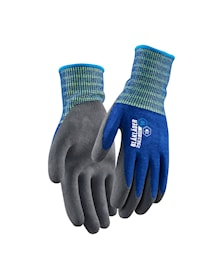 Work gloves light lined, latex coated
