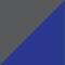 Grey/ Cornflower blue