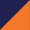 Marine/ Orange
