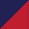 Marine/ rouge