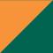 High Vis Oranje/ Groen