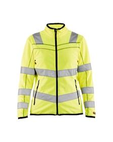 Ladies microfleece jacket Hi-Vis